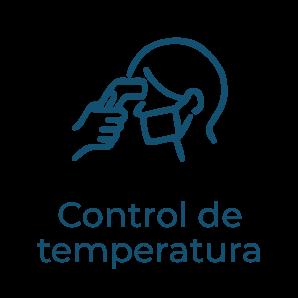 Control de temperatura - Protocolo anti covid clínica dentista