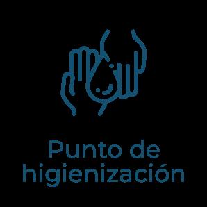 Punto de higienización - Protocolo anti covid clínica dentista