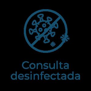 Consulta desinfectada - Protocolo anti covid clínica dentista